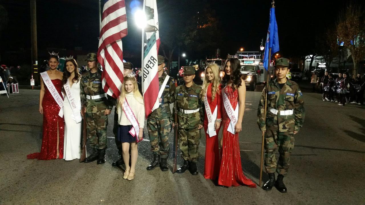 Visalia Christmas Parade 2015 - Tulare-Kings Composite Squadron 394