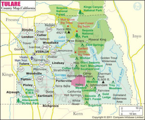 tulare-county-map